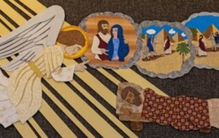 The Three Dreams of St. Joseph - Panel 1 in Series on