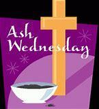 ASH WEDNESDAY - February 14th.