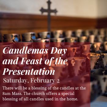 Candlemas Day and Feast of the Presentation