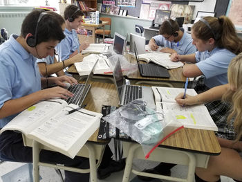 Technology Upgrades at St. Ambrose School