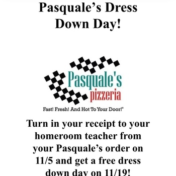 Pasquale Restaurant Night Dress Down Day