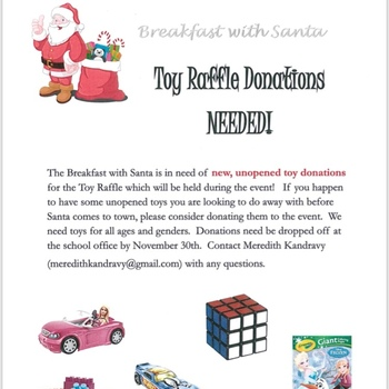 Toy Raffle Donations