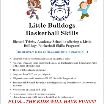 Little Bulldogs Basketball Program