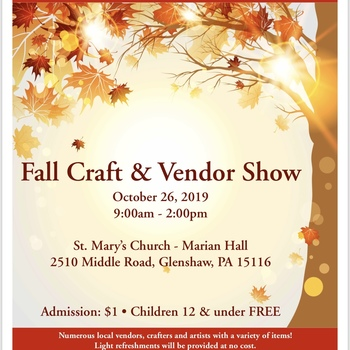 Fall Craft and Vendor Fair