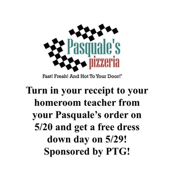 Pasquale's Pizza Dress Down Day