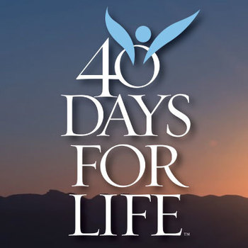 40 Days for Life Kick Off Rally