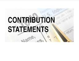 2019 Contribution Statements