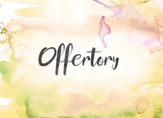 Offertory Contributions & Donations