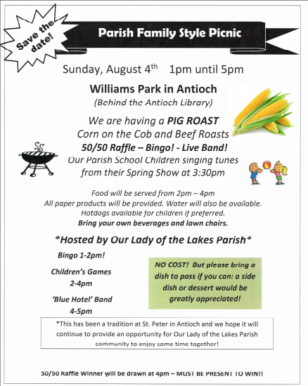 OLL Parish Picnic