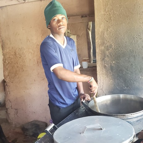 cooking for orphans