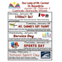 Catholic Schools Week - January 28 - February 1
