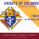 Knights of Columbus meeting Wednesday, October 17