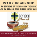 Prayer, Bread and Soup begins March 4