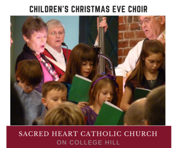 Children's Christmas Eve Choir for 4:30 p.m. Mass