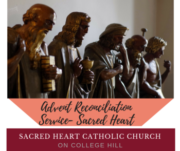 Parish Advent Reconciliation Service, 7 pm, December 11