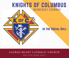 Knights of Columbus meeting, Wednesday, February 19
