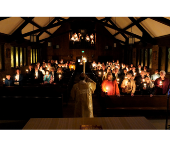 Easter Vigil, 8:30 p.m. Saturday, April 20