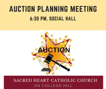 Auction Planning Meeting, Tuesday, June 11