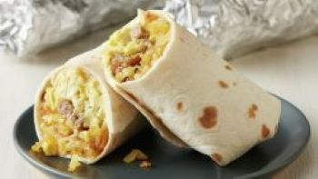 Breakfast Burrito thank you at the August 16 Parking Lot Mass - click here or picture to sign up