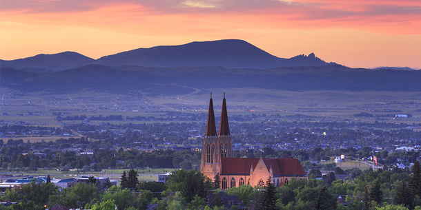 Cathedral of St Helena, Helena, Montana