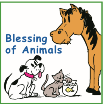 Animal Blessing in the Church Parking Lot