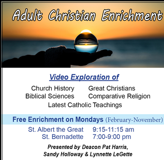 Adult Christ Enrichment (ACE)