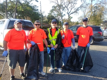 Road Cleanup of Lone Star Road