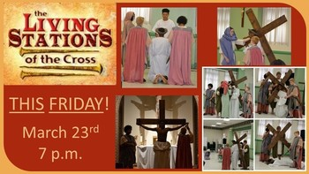 Living Stations of the Cross - led by OLHOC Youth