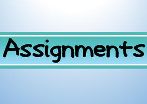Return to ASSIGNMENTS main page