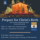Prep for Christmas with our Young Adult Group