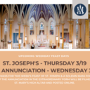 Annunciation Mass Facebook Livestream