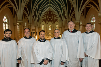 Saint Mary's schola to sing at solemn pontifical Mass will be offered on April 28