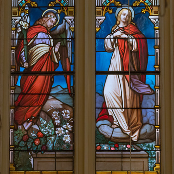 Note from our Parish Priest on the Assumption and a schedule of Masses for August 15.