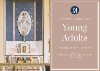 Young Adult Wednesday Meetings Continue Online
