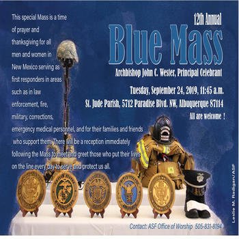 12th Annual Blue Mass