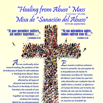 """Healing from Abuse"" Mass"