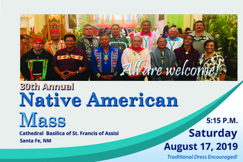 30th Annual Native American Mass