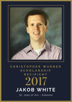2017 Christopher Warner Scholarship Recipient