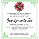 Grandparents Holiday Tea