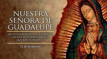 Celebration of Our Lady of Guadalupe/ Celebration de La Virgen Maria de Guadalupe