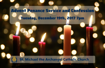 Advent Penance Service and Confession