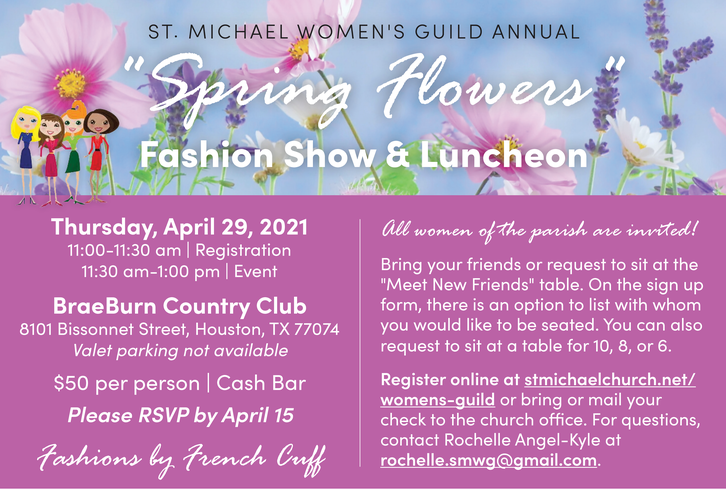 Womens Guild Spring Fashion Show and Luncheon