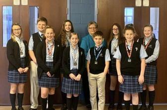St. Teresa of Calcutta School Announces Science Fair Winners
