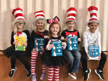 St. Teresa of Calcutta Students Celebrate National Read Across America Day