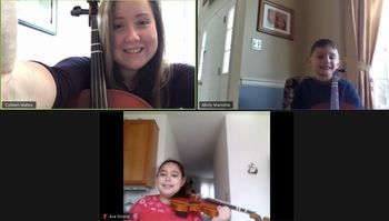 St. Teresa of Calcutta School students make music together-virtually