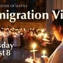 Archdiocesean  <br />Immigration Vigil / Vigilia por Ia inmigración  <br />Thursday August 8 at 7PM