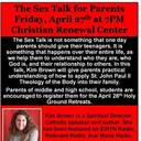 "The Sex Talks for Parents - ""Understanding Theology of the Body"" - featuring Kim Brown"