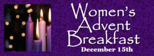2 Tables Left for 2018 Women's Advent Prayer Breakfast