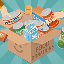 Up North Engaged—Cash or Cans: Drive-Through Food Drive
