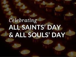 What's the difference between All Saints' Day (Nov. 1) and All Souls' Day (Nov.2)?